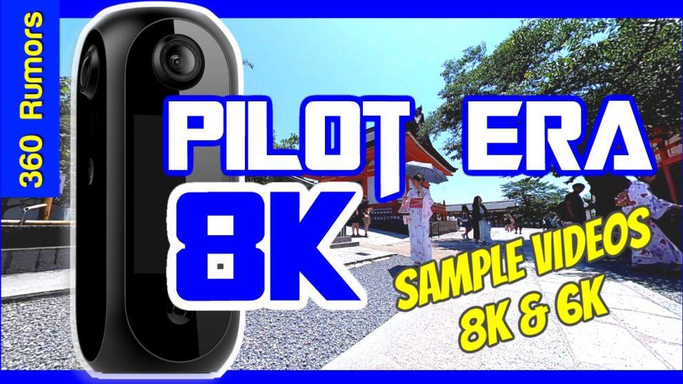 Pisofttech Pilot Era sample 360 videos in 8K and 6K
