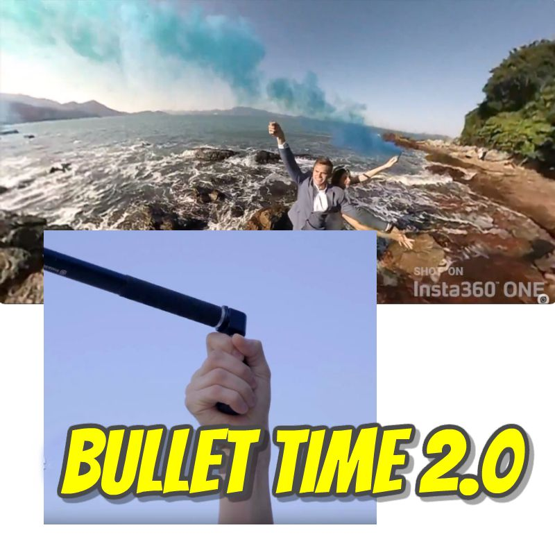 Insta360's new bullet time accessory