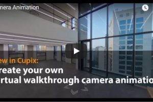 Cupix virtual tour walkthrough