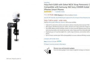 Feiyu G360 360 camera gimbal discount