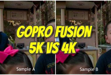 GoPro Fusion 5k vs 4k