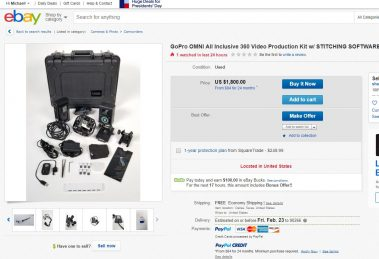gopro omni on ebay
