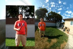 How to make a 360 camera and selfie stick invisible