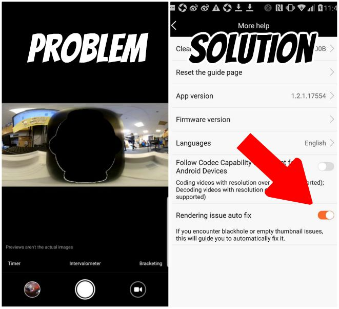xiaomi mi sphere half black screen (black hole issue) problem and solutiion