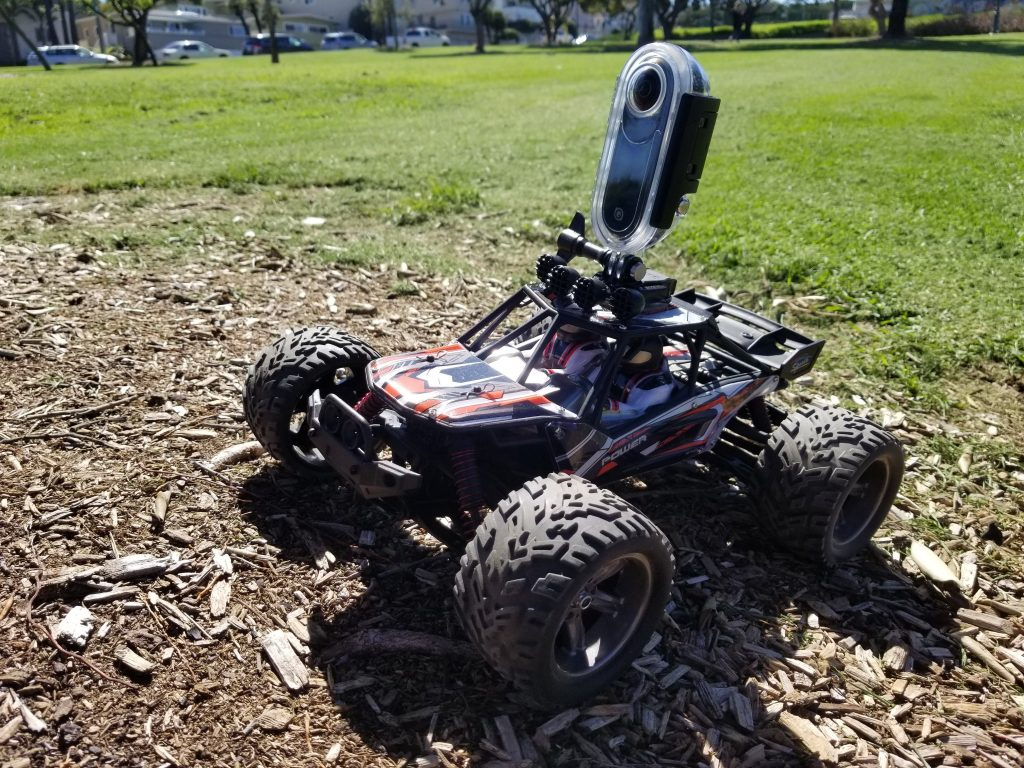 R/C Carnage stabilization test