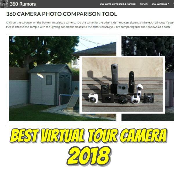 Best virtual tour camera (2018): detail vs. dynamic range vs. usability