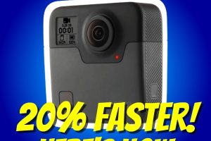 GoPro Fusion: how to stitch 20% faster