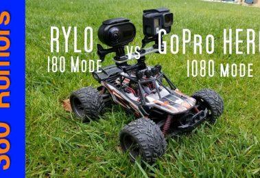 Rylo vs. GoPro Hero6