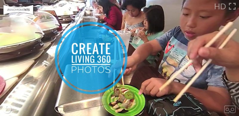Panomoments: Create living 360 photos