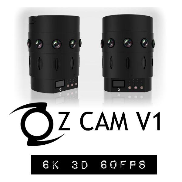 Z Cam V1 6K 60fps 3D 360 camera
