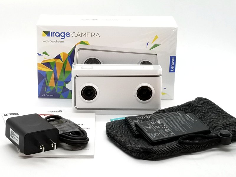 Lenovo Mirage camera unboxing