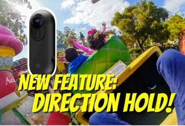 Insta360 ONE review update: Direction Hold follow mode stabilization