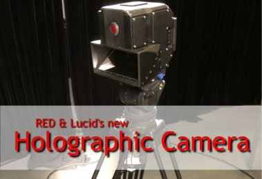 "Red and Lucid's ""8K"" 3D/4V holographic camera"