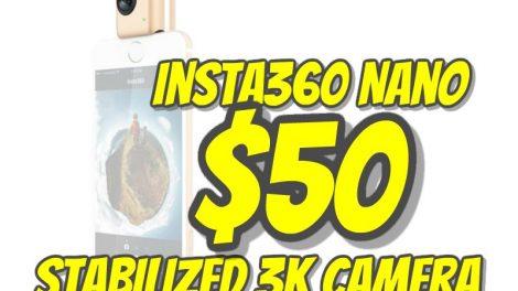 Insta360 Nano sale