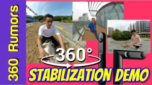 Kandao Qoocam sample 360 video and stabilization demo