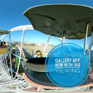 View 360 photos and videos with Samsung Gallery app