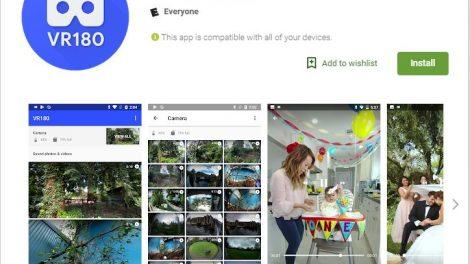 Google VR180 app