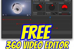 360 Ninja: a free 360 video editor for Windows or Mac