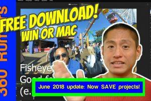 Insta360 Studio tutorial: Convert 360 video into overcapture video