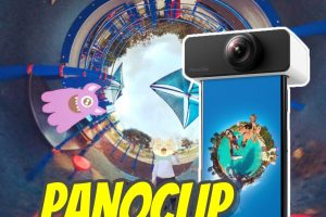 Panoclip is a 360 lens for your smartphone, turning it into a 360 camera