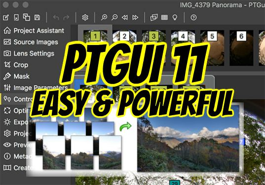 PTGui 11 is both easy and powerful