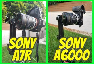 Sony a6000 vs Sony a7r for virtual tour