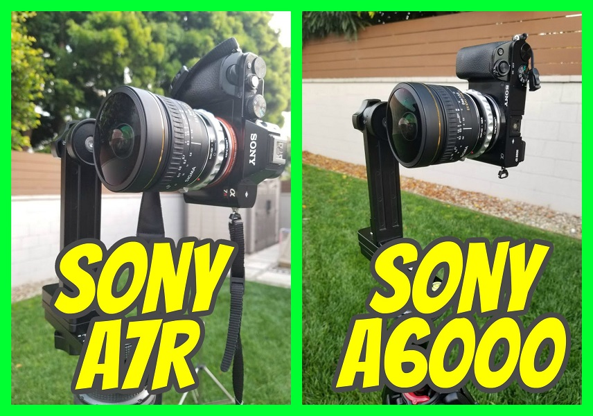 Sony a6000 vs Sony a7r for virtual tour