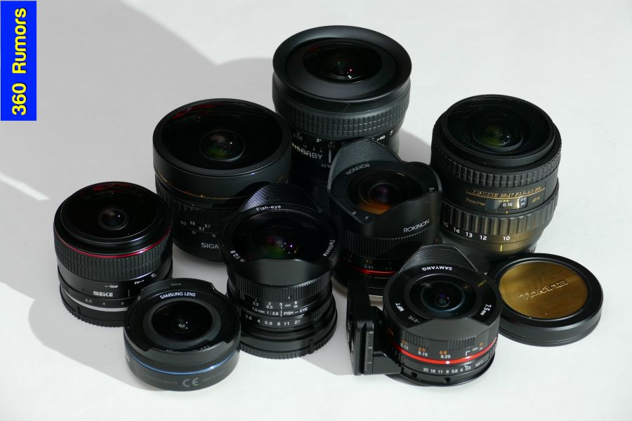 Which lens should I use for a 360 panorama? Fisheye lens comparison