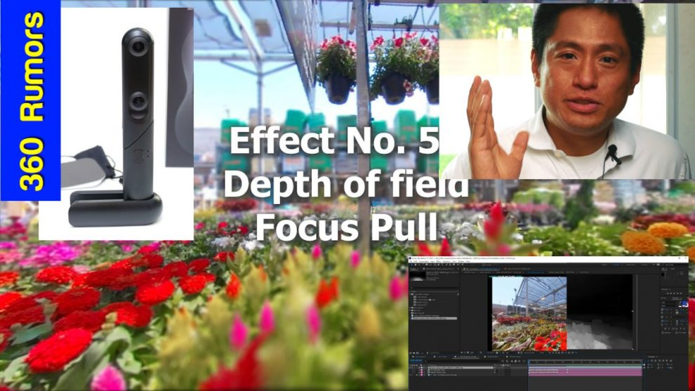 5 easy 6DOF and 2.5D animation effects with After Effects and Kandao Qoocam Studio