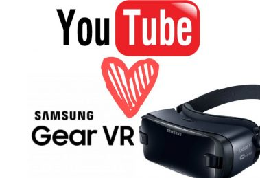 YouTube on Samsung Gear VR
