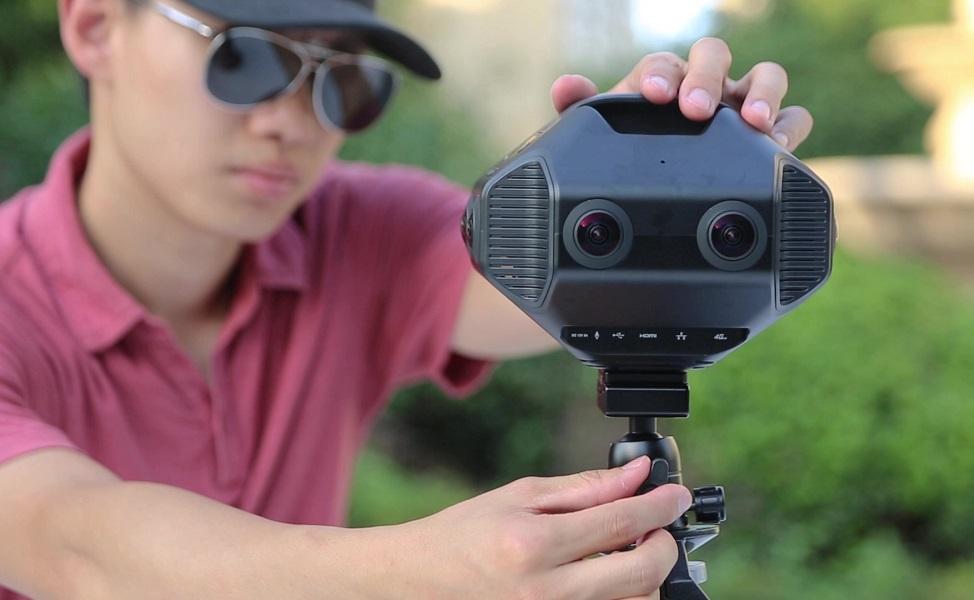 Detu Maxmobile 8K 3D 360 camera