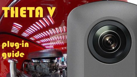 Ricoh Theta V plugin guide