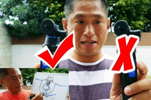 Benro BK10 vs. Benro BK10 selfie stick tripod: new technique for removing the ballhead