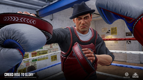 Creed: Rise to Glory VR boxing game now available!