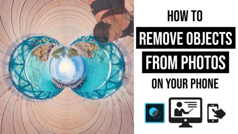 How to remove tripods and objects from your 360 photos on your smartphone