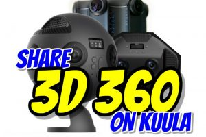 Share 3D 360 photos for free on Kuula