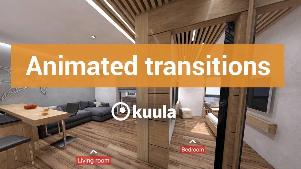 Kuula adds transitions to virtual tour