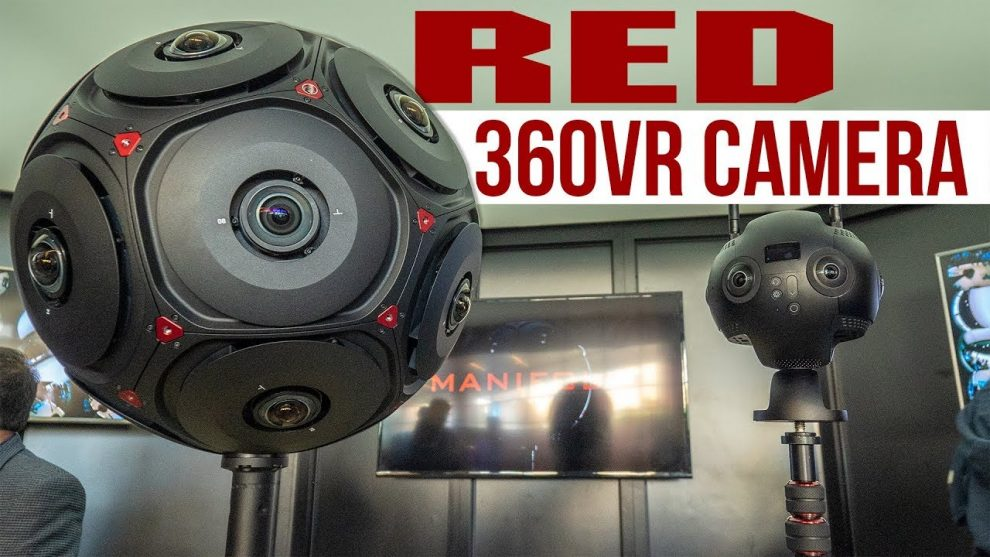 RED Manifold 6DOF 360 camera