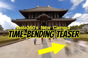 Time-bending teaser video for Insta360's new camera