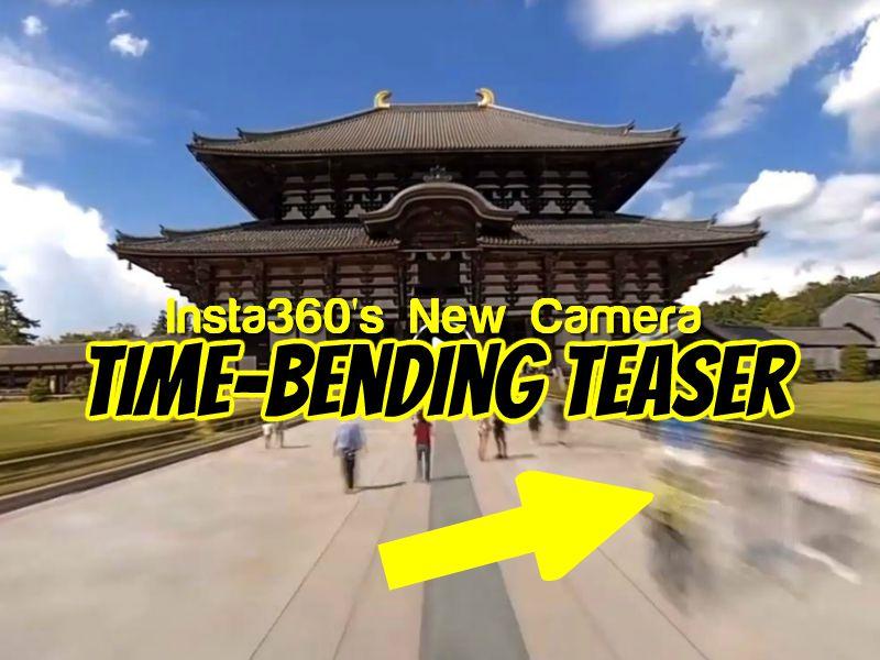 Time-bending teaser video for Insta360's new camera