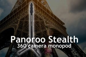 Panoroo Stealth is a low-profile 360 camera monopod