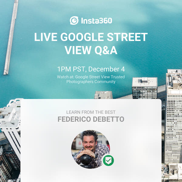 Free live Q&A on Google Street View