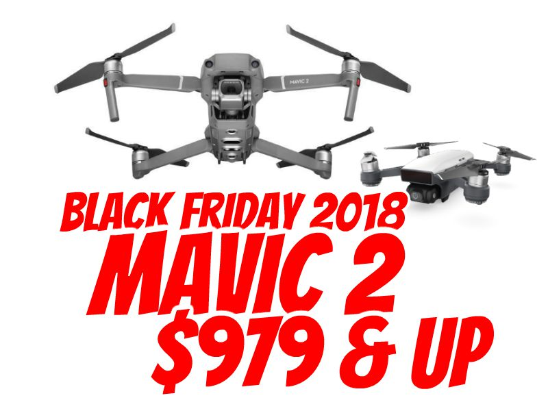 DJI Mavic 2 Zoom, Mavic 2 Pro, and Spark Black Friday sale