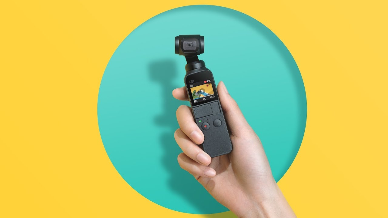 DJI launches Osmo Pocket, the smallest 3-axis gimbal with camera - 360 Rumors
