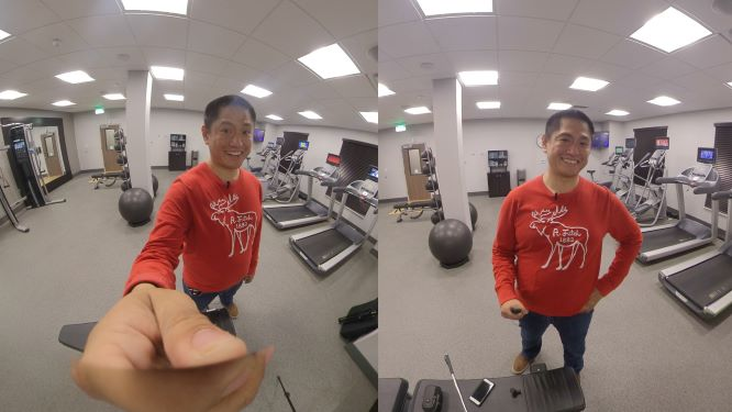 360 camera basics: how to avoid a giant hand