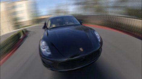Car selfie: third person view car videos