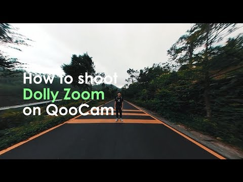 How to do a dolly zoom without a dolly or slider, using a 360 camera