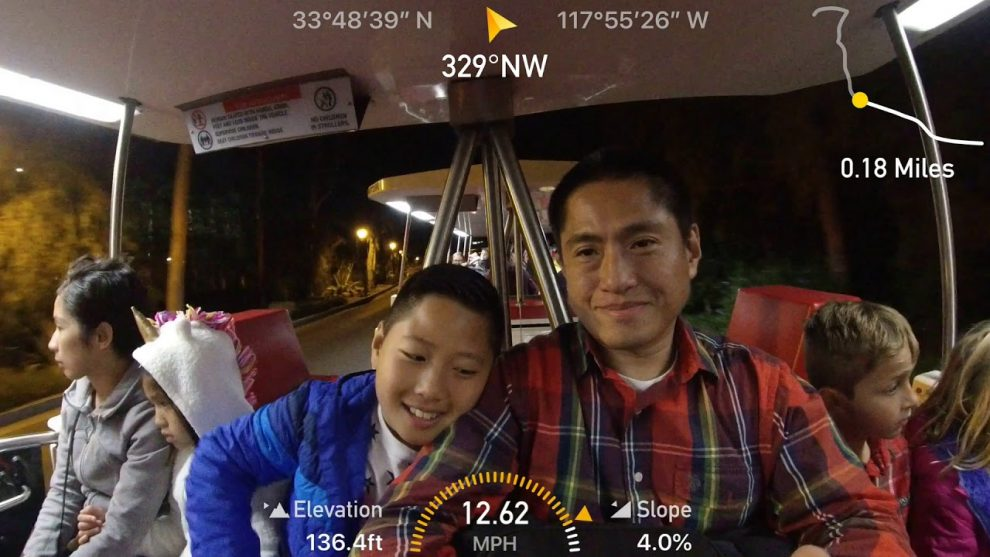 Insta360 Stats sample video