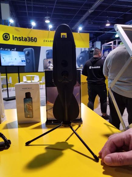 Insta360 One X drifter - final design