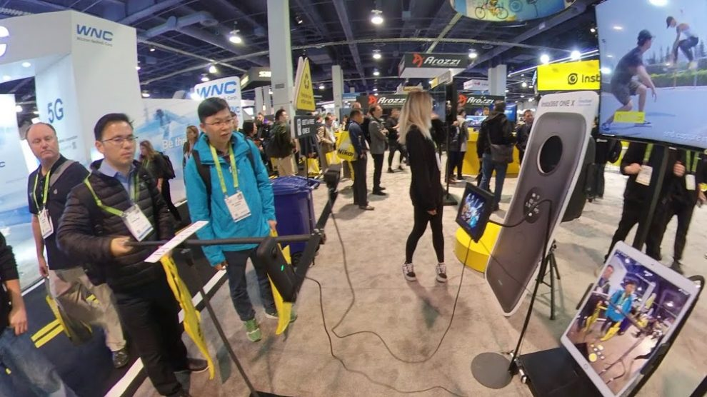 Insta360 at CES 2019: stabilization demo, free Insta360 One X, Titan and more